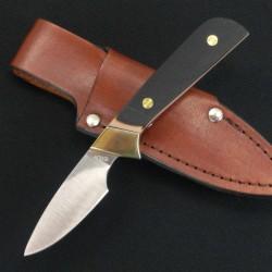 Couteau Chasse Schrade Old Timer Lil' Finger Hunter Acier 440 Manche Delrin SCH156OT