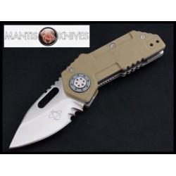"""Couteau Mantis Tough Tony. 3 1/2"""" clos Acier CPM-440V G-10 Handle MANMT9D - Livraison Gratuite"""