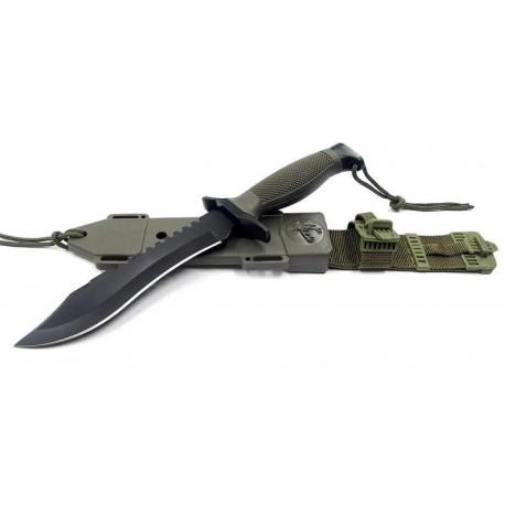 Couteau de Survie - GROS Couteau Combat Sniper - One Shot One Kill M3638 - Livraison Gratuite