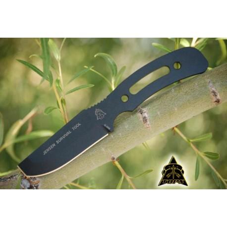 Couteau de Survie Tops Jensen Survival Tool Acier 1095 Tops Knives Made In USA TPJST01 - Livraison Gratuite