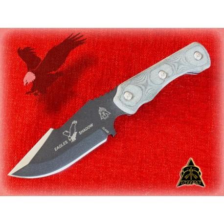 Couteau de Survie Eagles Shadow Acier 1095 Tops Knives ESH-01 Made In USA TPESH01 - Livraison Gratuite