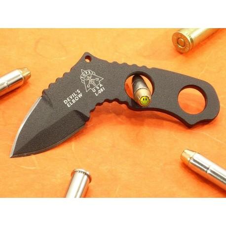 Tops Devil's Elbow Skeleton Karambit Couteaux TOPS KNIVES Acier Carbone 1095 Made In USA TPDEV02 - Livraison Gratuite