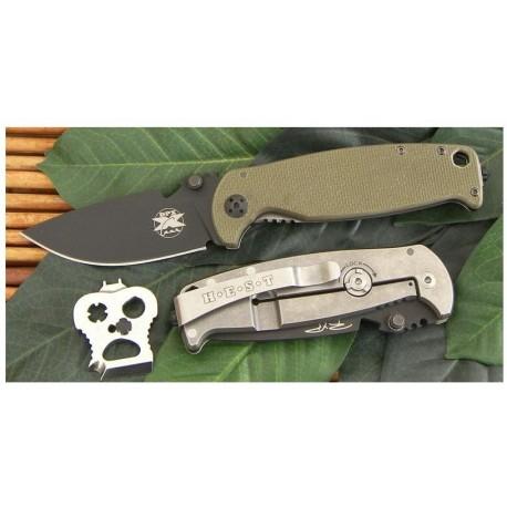 Couteau de Combat DPX Hest Folder 2.0 Hostile Environment Survival Tool Acier D2 G-10 Italy DPXHESTF20 - Livraison Gratuite