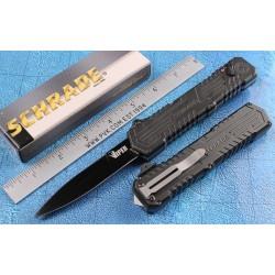 Couteau Automatique SCHRADE Viper OTF 3nd Generation Acier 4034 Titane Black SCHOTF3B - Livraison Gratuite