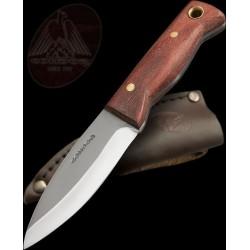 Couteau de survie Bushcraft Condor Mini Bushlore Acier Carbone 1075 Made In Salvador CTK2323HC - Livraison Gratuite