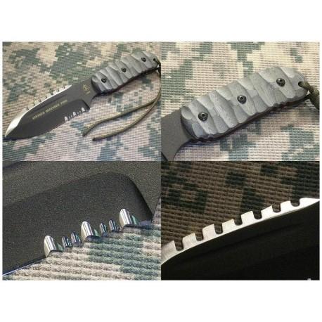 Couteau de Combat Tops Stryker Defender Tool Acier 1095 Micarta Tops Knives Made In USA TPDEFT01 - Livraison Gratuite