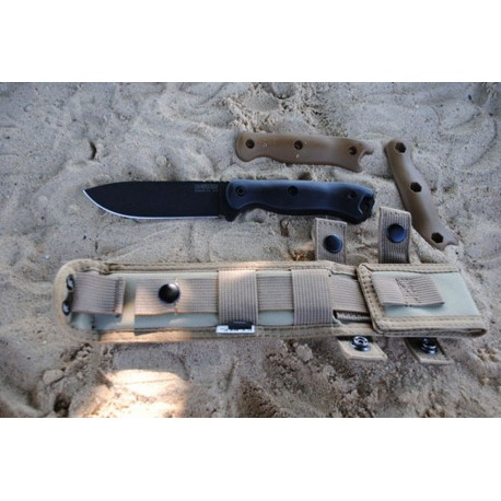 Couteau Tactical Survie Becker Drop Point Acier Carbone 1095 Made In USA BKR16 - Livraison Gratuite