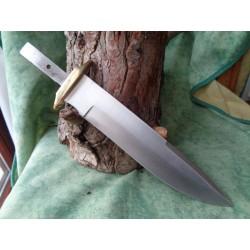 LOT DE 3 BOWIE LAMES A CUSTOMISER FIXE Lames de Couteau BL7891 - Livraison Gratuite