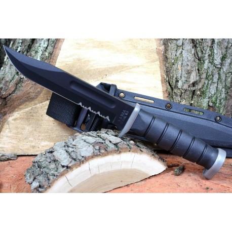 Couteau Ka-Bar D2 Extreme Couteau de Combat Acier D2 Etui Kydex KABAR Made In USA KA1282 - Livraison Gratuite