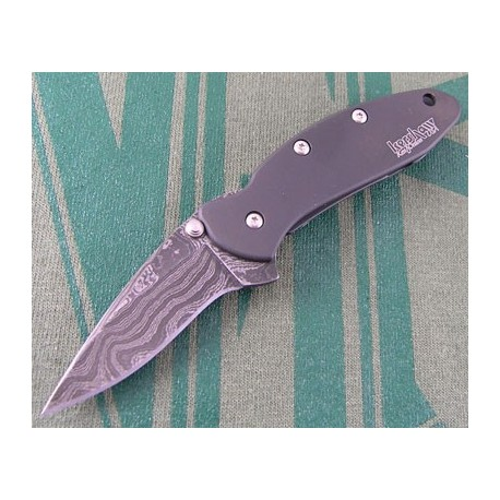 Couteau KERSHAW DAMAS SCALLION KS1620DAMBK KNIFE
