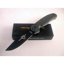 Couteau Ontario Rat II Lame Acier AUS-8 Black Manche FRN Ontario Rat Model II ON8861 - Livraison Gratuite