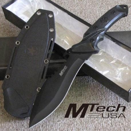 couteau de survie bushcraft tactical military bowie acier 440 manche alu mt2012 livraison gratuite. Black Bedroom Furniture Sets. Home Design Ideas