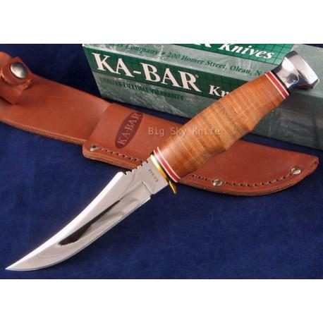 Skinner Couteau CHASSE PECHE KABAR KA1233