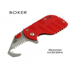 Boker Plus Rescom Red - BOP01BO584 - Couteau Boker + Rescue Secours