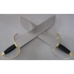 Set de 2 Sabres Cold Steel Butterfly Swords Acier Carbone 1055 CS88BF - Livraison Gratuite