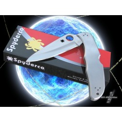 Couteau Spyderco Endura 4 Manche Acier Lame accier VG-10 Made In Japan SC10P - Livraison Gratuite