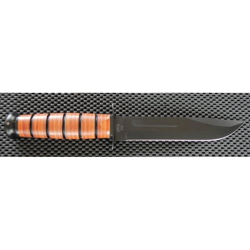 Couteau Ka Bar Us Army Fighting Knife Acier Carbone 1095