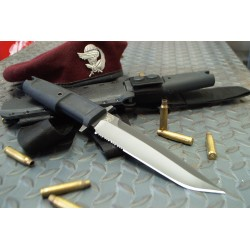 Couteau Extrema Ratio Col Moschin Combat Tanto Acier N690 Manche Forprene Made In Italy EX125 - Livraison Gratuite