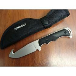 Gerber Freeman Guide Hunting Couteau à Dépecer Gerber Manche ABS Etui Nylon G0589 - Livraison Gratuite