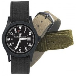 MONTRE SMITH&WESSON BLACK FACE MILITARY Watch - SWW1464BLK - LIVRAISON GRATUITE
