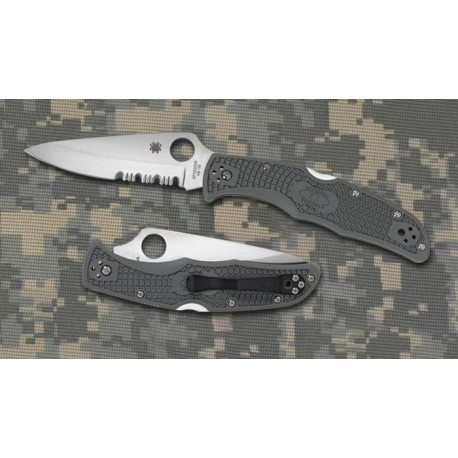 Couteau Spyderco Endura 4 Military Green sc10psfg