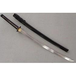 Sabre de Samourai Katana Warrior Series COLD STEEL Carbone 1055 Manche Peau de Raie Etui Bois CS88BK - Livraison Gratuite