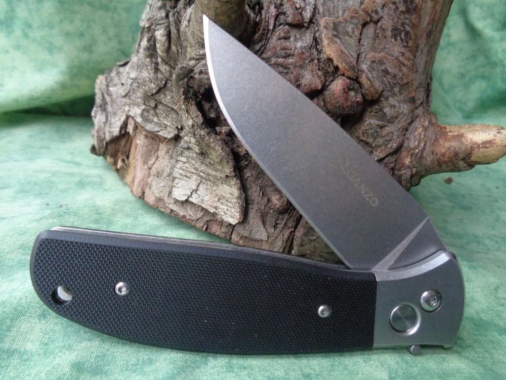 Couteau Automatique Ganzo Acier 440C G7482BK