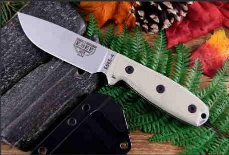 Couteau Esee Model 4 Lame Acier S35VN