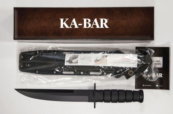 Couteau Tactical KABAR Modified Tanto